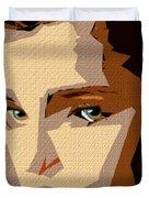 Female Expressions Xlviii Duvet Cover