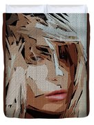 Female Expressions Xx Duvet Cover