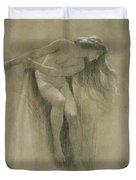 Female Nude Study  Duvet Cover