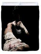 Female Toughness Duvet Cover