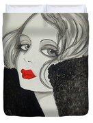 Femme Fatale Duvet Cover