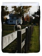 Fence Line Duvet Cover