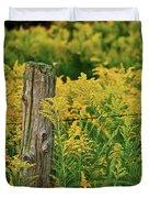 Fence Post7139 Duvet Cover