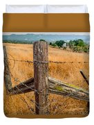 Fence Posts Duvet Cover