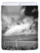 Fence Valley Duvet Cover