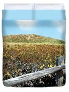 Fence With A View Duvet Cover