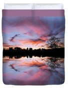 Fencing Reflections Duvet Cover