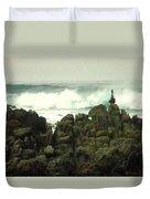 Feng Shui On The Monterey Peninsula Duvet Cover