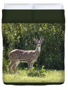 Feral Axis Deer Duvet Cover