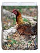 Feral Bird Duvet Cover