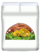 Ferald Sleeping Duvet Cover