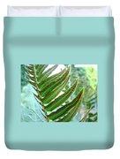 Fern Art Print Green Forest Ferns Baslee Troutman Duvet Cover