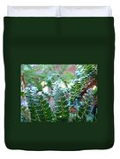 Fern Art Prints Green Sunlit Forest Ferns Giclee Baslee Troutman Duvet Cover