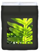 Fern Delight Duvet Cover