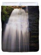 Fern Falls, Id Duvet Cover