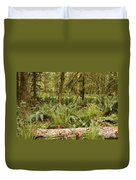 Fern Forest Duvet Cover