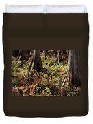 Fern Forest Floor Duvet Cover