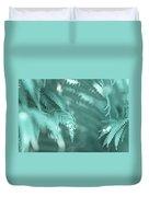 Fern Leaves Abstract 4. Nature In Alien Skin Duvet Cover