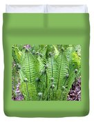 Fern Meet And Greet Duvet Cover