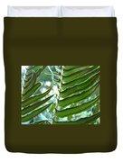 Ferns Art Prints Green Forest Fern Sunlit Giclee Baslee Troutman Duvet Cover