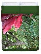 Ferns Come Alive Duvet Cover