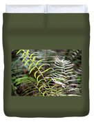 Ferns In Natural Light Duvet Cover