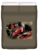 Ferrari 156/85 Duvet Cover