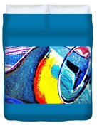 Ferrari 23b Abstract Duvet Cover