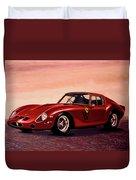 Ferrari 250 Gto 1962 Painting Duvet Cover