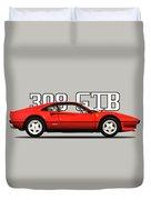 Ferrari 308 Gt Berlinetta Duvet Cover