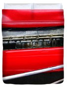 Ferrari 312 F-1 Engine Duvet Cover