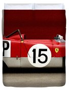Ferrari 312 Profile 1971 Duvet Cover
