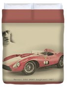 Ferrari 335 S Duvet Cover