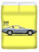 Ferrari 365 Gtc-4 Duvet Cover