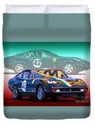 Ferrari 365 Gtc4 Duvet Cover