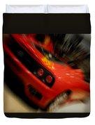 Ferrari Action Duvet Cover