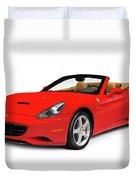 Ferrari California Duvet Cover