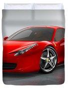 Ferrari Italia  Duvet Cover