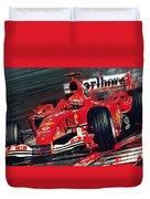 Ferrari - Michael Schumacher  Duvet Cover