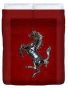 Ferrari Stallion Duvet Cover