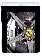 Ferrari Wheel Op 121915 Duvet Cover