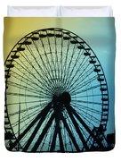 Ferris Wheel - Wildwood New Jersey Duvet Cover