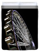 Ferris Wheel At Night 16x20 Duvet Cover