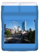 Ferris Wheel Atl Duvet Cover