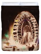 Ferris Wheels Tower 536 2 Duvet Cover