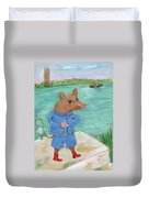 Ferry Mouse Duvet Cover