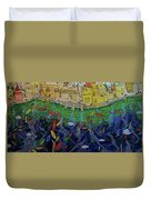 Ferry To The City Of Gold II Duvet Cover