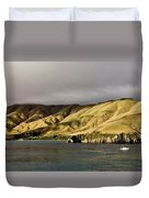 Ferry View Picton New Zealand Duvet Cover