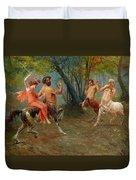Festival Of Centaurs Duvet Cover