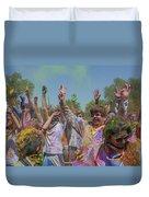 Festival Of Color Duvet Cover